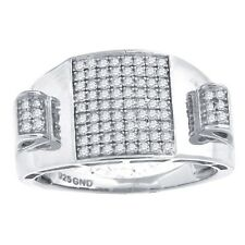 925 Argent Sterling Micro Pave Bague - STACK