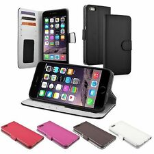 Flip Leather Stand Cover Card Wallet Case Holder for iPhone 6 Plus/iPhone 6