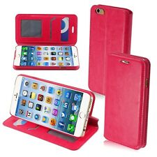 "For Apple iPhone 6 4.7"" Luxury PU Leather Flip MyJacket Wallet Cover Case Stand"
