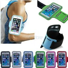 "Sports Gym Running Armband Case Cover For iPhone 6 4.7"" & 5.5"" Plus w,"