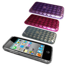 Diamond TPU Rubber Gel Case Cover for Apple iPod Touch 4 4G 4th gen.