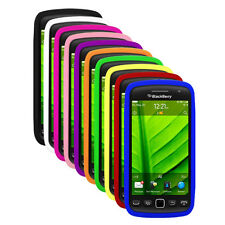 Silicone Soft Skin Cover Case for Blackberry Torch 9850 , 9860