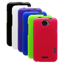 Opaque TPU Rubber Gel Case Cover Skin for HTC One X , One X+
