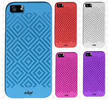 For Apple iPhone 5C TPU CANDY Gel Flexi Skin Case Phone Cover Square Pattern