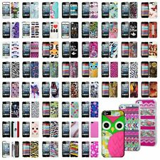 New All Style Hard PC Pattern Skin Case Cover Back for Apple iPhone 5 5S 5G