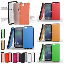 NEW Apple iPhone 6 case with Screen Protector TPU Wrap up Full Body Co