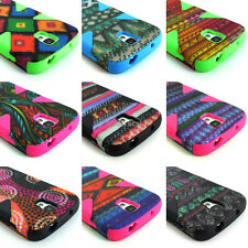 For Samsung Galaxy S4 Active I537 Design Dynamic Tuff Impact Hybrid Case Cover