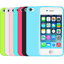 Caseology iPhone 4 4S Slim Fit Soft Flexible TPU Gel Case Cover [Revis