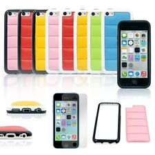For Apple iPhone 5C Heavy Duty Hybrid Rugged Hard Case Cover & Screen