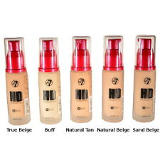 W7 Hi-Definition HD 12 Hour Foundation 30ml - All Shades Available