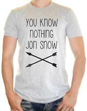 ' You Know nothing Jon Snow ' Game Of Thrones Inspired -  Mens Funny t-shirt