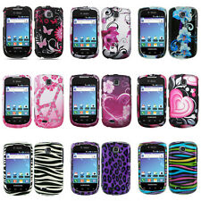 For T-Mobile Samsung Dart T499 Colorful Design Hard Case Snap On Cover