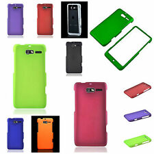 For Motorola DROID RAZR M XT907 LUGE Hard Case Colorul Rubberized Coating Cover