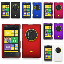 For Nokia Lumia 1020 AT&T Colorful Rubberized Hard Matte Case Snap On