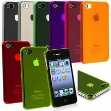 Transparent Hard Snap-On Protective Skin Slim Case Cover For iPhone 4 4G 4S