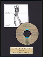 CHER LLOYD - Framed CD Presentation Disc Display - MULTI LISTING
