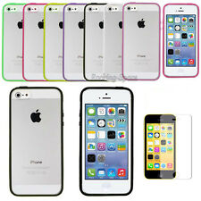 Ultra Thin 0.5mm Transparent Matte Case Cover For iPhone 5S 5 ,Screen