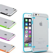 For Apple iPhone 6/6 Plus Case Slim Transparent Crystal Clear Hard TPU Cover