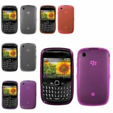 Rubberized Candy TPU Skin Case Cover For BlackBerry Curve 8520 8530 93
