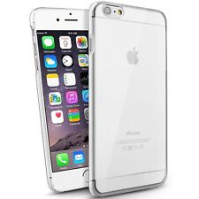 For iPhone 6,6 Plus Clear Crystal Transparent Hard Thin Back Snap On C