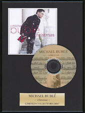 MICHAEL BUBLE - Framed CD Presentation Disc Display - MULTI LISTING