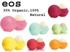 EOS Lip Balm (Evolution of Smooth) Organic and 100% Natural Pack of Four