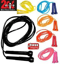 2Fit Plastic Skipping Rope Jump Speed Exercise Boxing Gym Fitness MartialArt MMA