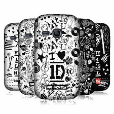 OFFICIAL 1D DOODLE DESIGN HARD BACK CASE FOR SAMSUNG GALAXY YOUNG S6310