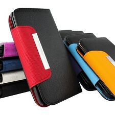 For Samsung Galaxy S4 S IV I9500 Flip Wallet PU Leather Case Pouch w,S
