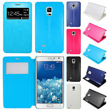 For Samsung Galaxy Note Edge Wallet Case Pouch Flap STAND Cover + Screen Guard