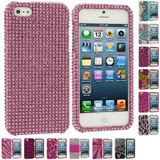 Color Diamond Rhinestone Bling Luxury Cute Hard Case Cover for iPhone