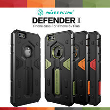 "For iPhone 6 4.7"" Plus 5.5"" Tough Shockproof Armor Hybrid Case w,Glass"