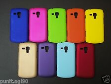 Premium Hard Back Shell Cover Case Matte For Samsung S Duos 2 S7562 S7582 - PLAI