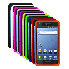 Silicone Soft Rubber Skin Cover Case for Samsung Infuse 4G , i997