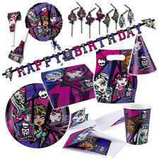 Monster High Party Deko Kindergeburtstag Kinderparty Geburtstagsparty Partydeko