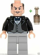LEGO BATMAN - ALFRED THE BUTLER FIGURE + FREE BOTTLE- 7783 -RARE- BESTPRICE -NEW