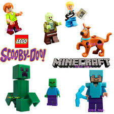 Lego Minecraft Scooby Doo steve breaking bad Walter White Ultra Agent 70170 uk
