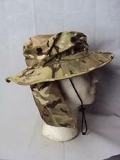 Genuine British Military MTP Camo Combat Tropical Sun Weather Hat & Neck Guard
