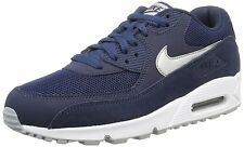 NIKE Scarpa Uomo AIR MAX 90 ESSENTIAL 537384/411 Colore Blue Pelle