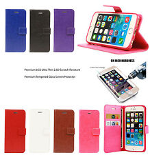Genuine Handmade PU Leather Wallet Flip Case For IPhone 6,6S,6 Plus,6S Plus,5 SE