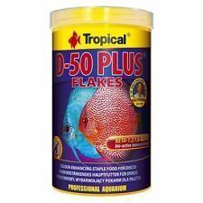 Tropical D-50 PLUS colour-enhancing flakes for discus 250,1000ml,12g Sachet