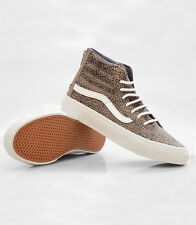 Vans Sk8-Hi Slim Zip Cheetah Suede brown / tan