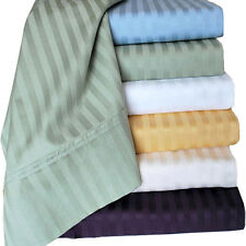 NY Hotel Deluxe 300 Thread Count 100% Cotton Sateen Bed Sheet Set