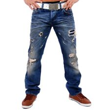 REDBRIDGE RB-181 BY CIPO & BAXX HERREN JEANSHOSE JEANS HOSE DESTROYED DARK BLAU