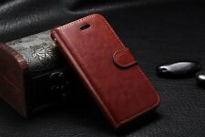 Premium Wallet Leather Flip Cover Case For Apple iPhone 5 / 5s
