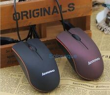RATON LENOVO M20 USB OPTICO 3D PC Mouse Wired Optical For PC Gaming High Quality