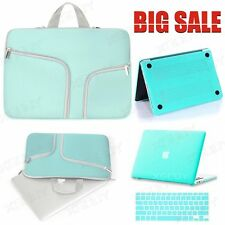 """Rubberized Hard Case Laptop Sleeve Bag Keyboar Cover for Mac MacBook 13"""" Air/Pro"""