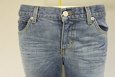"""Juicy Couture womens bootcut faded blue denim jean pant stonewashed RRP £80 29"""""""