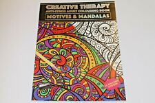 ADULT COLOURING IN BOOKS WITH CREATIVE & THERAPEUTIC DESIGNS. UP TO 150 DESIGNS.