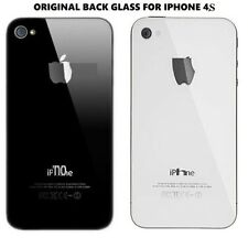 Original Back Battery Glass Rear Housing Plate Panel Door For iPhone 4S